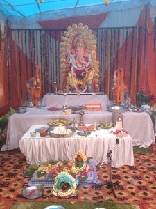 Ganesh Chaturthi Ceremony,Noida. Vedicgrace Foundations